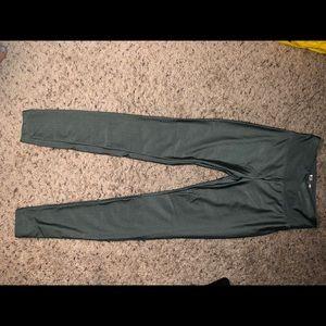 Forever21 Metallic leggings